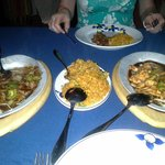 Main dishes with rice