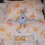 Бесплатная детская кроватка с подарками