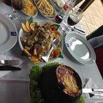 Camarão na Moranga e Peixe Belle Muniere!