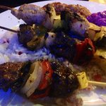 Mixed grille kebabs