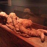 Never knew mummies were originally posed naturally