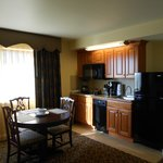 Kitchenette in one-bedroom unit