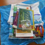 Goodie package from Fair Winds Hot Air Ballooning