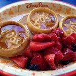Waffles for breakfast at Pop Century!