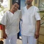 Nos deux masseurs