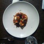 The roasted fig dessert