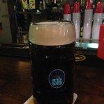 Pint of Hofbrau Lager