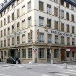 Hotel Simplon, extérieur, Duhanel et La Charité