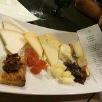 Tabla de quesos catalanes