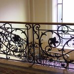 Lovely Victorian scrolls in the hallways