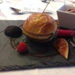 mille feuilles de foie gras