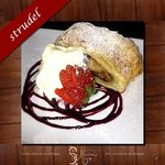 Apple strudel the best !!