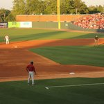 Fluor Field in late afternoon