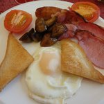 the main breakfast