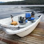 Fishing Boat, Silver King Lodge, Ketchikan, Alaska