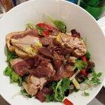 Une magnifique salade .... et très bonne