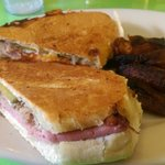 Cuban Sandwich with Sweet Plantains