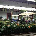 Outdoor seating San Angel Inn