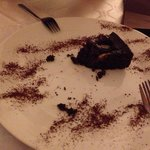 Chocolate cake with pears - very bad