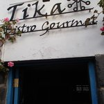 Entrance to Tika Bistro Gourmet