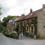 The Fox and Hounds is situated at the bottom of Dalehouse Bank adjacent to the former corn-mill.