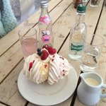 Massive fresh cream meringue from the Storehouse of Foulis