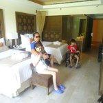 Relajante habitacion Jr.Suite Swimout