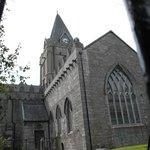 Rear of church