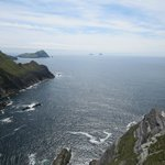View of Skelligs from Kerry cliffs
