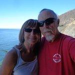 Sleepy & Kat on vacations along Nothern California Coast