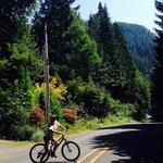 Mountain biking at the Resort