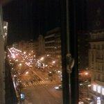 Vista de la calle Goya desde mi habitación.