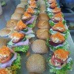 salad rolls ...