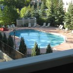 Pool Area view from our 3rd floor balcony