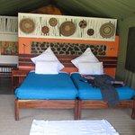 Interior of sleeping area.