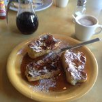 Piu Bello French Toast--they actually use french bread!