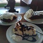 Homemade Desserts at Kinder's Restaurant