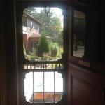 The back screen door