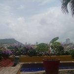 View from the Rooftop Pool