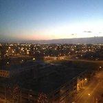 view from 13th floor in break of dawn