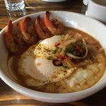 Shrimp with grits. So savory and delightful! Who knew such happiness could fit in a bowl?
