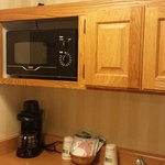 Microwave in the Cabinet