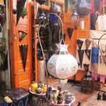 Colourful artisana goods