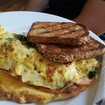 """Special for the day: """"Popeye"""" omelette"""