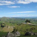 Looking West over Te Mata Peak Road