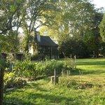 Site hôtelier vue du jardin