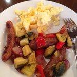 Delicious uber fresh breakfast!