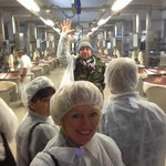 High-energy guiding by Alessandro at cheese factory in Spilamberto