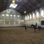 Main indoor arena