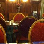 Time warp dining room - decor & menu circa 1970s.